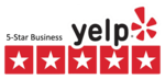 Yelp five star rating